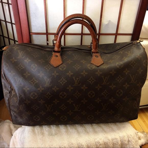 0b6c17385fe Louis Vuitton speedy 40 monogram Boston bag